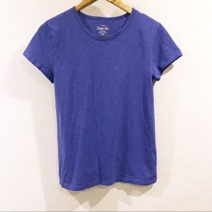 J. Crew Factory | colbalt royal blue studio tee S